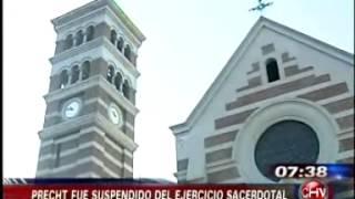El Vaticano decidió sancionar a Monseñor Cristián Precht. PEDERASTIA