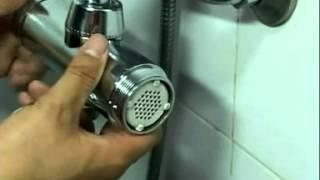 видео Фильтр для душа: Барьер и насадка новая, вода для ванной комнаты, душевая с хлором, отзывы и лейка