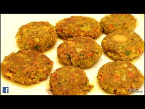Vegetables Nuggets | Recipes By Chef Ricardo