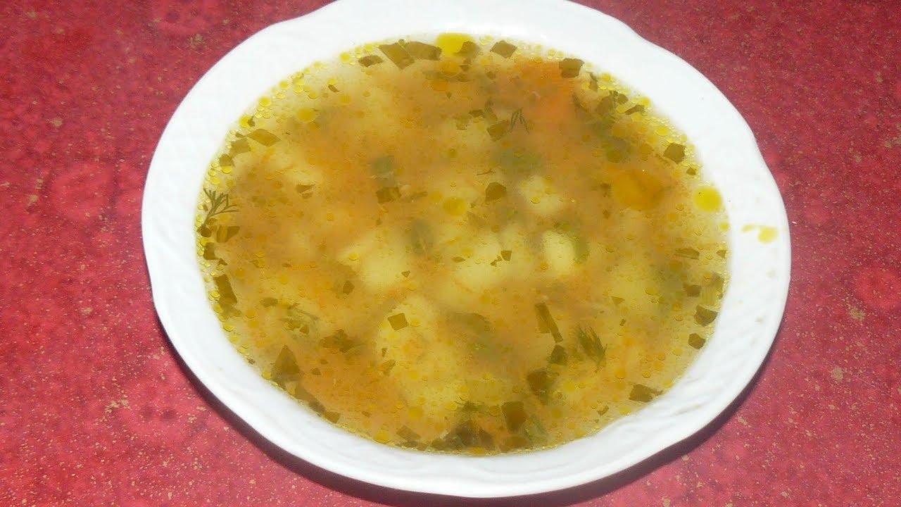 Картофельный суп за 20 минут. Пожалуй, самый простой рецепт, который можно приготовить.