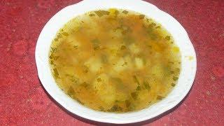 как сделать обычный суп