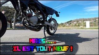 J'AI DEJA SERRE ?!! 75cc Top rose - moto 50cc