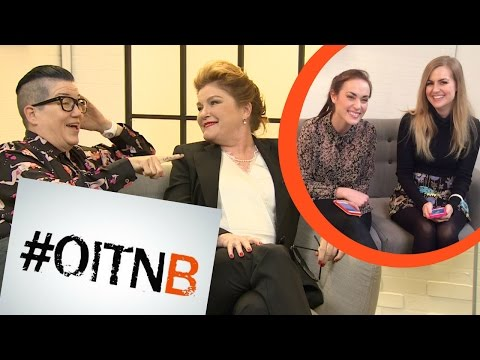 OMG WE SAID PUSSY IN FRONT OF KATE MULGREW! OITNB SEASON 4 EXCLUSIVE!
