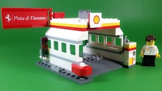 Shell Lego Gas Station Building Instructions (set 40195)