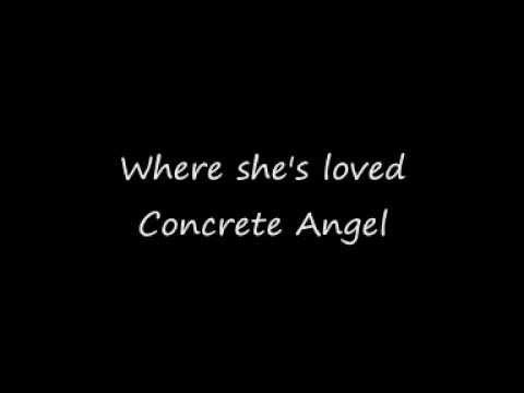 Martina Mcbride - Concrete Angel (Lyrics)