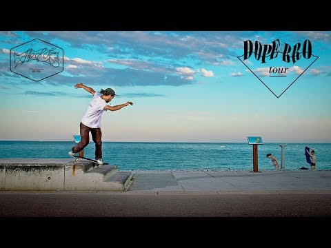 DOPE BRO Tour | A Skateboard Trip to Marseille and Nice, France | Titus Münster