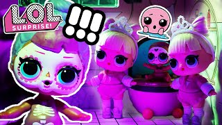 LOL Surprise! | Stop Motion Cartoon | The Nightmare B4 Halloween