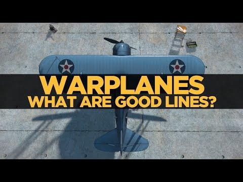 Warplanes What are good lines?