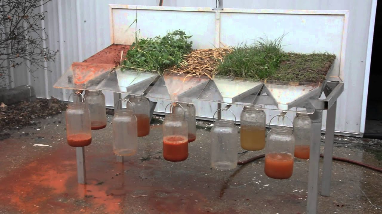 Rainfall Simulator Soil Health And Rain Events Youtube