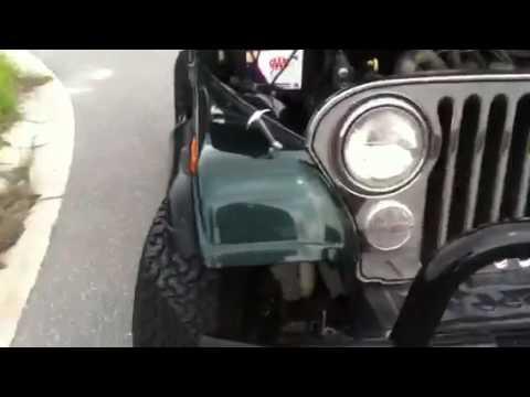 Restored 1986 Jeep CJ7