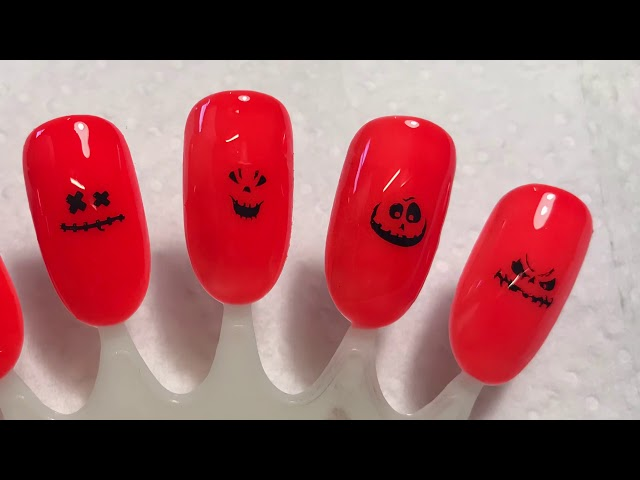 Halloween Nail Art Stamping: Born Pretty