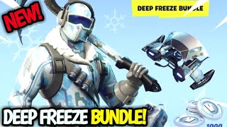 NEW! DEEP FREEZE BUNDLE! FORTNITE BUNDLE FULL SET! FROSTBITE SKIN & 1000 VBUCKS!