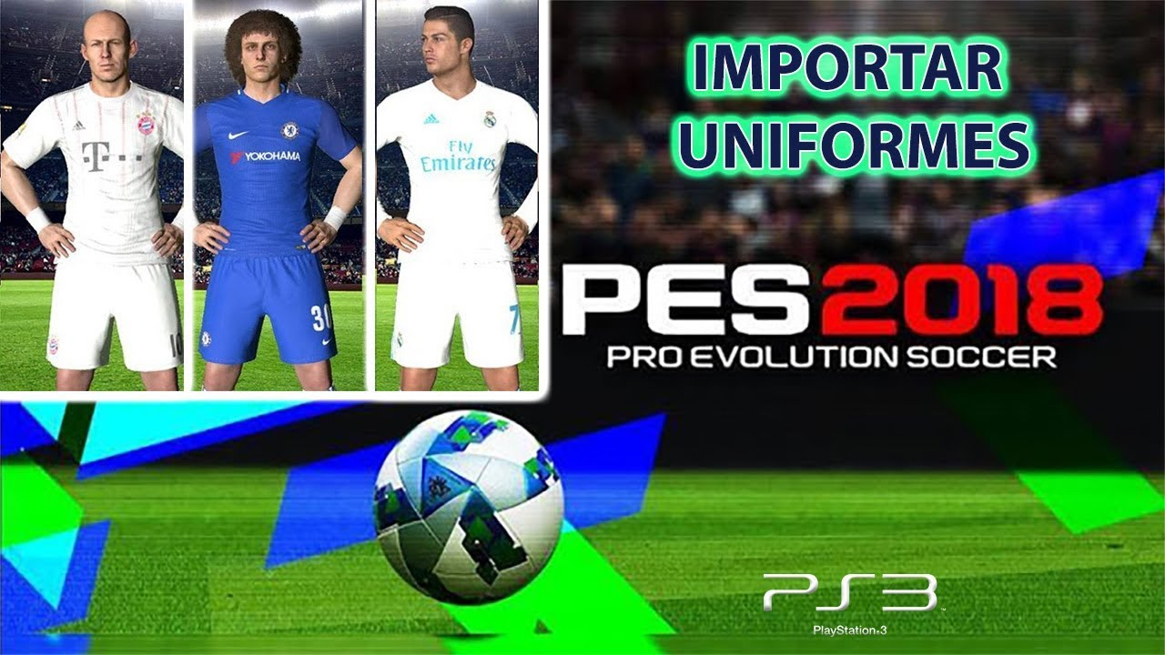 PES 2018 PS3 La Liga 2019/2020 Kitpacks by AndrewPES Update