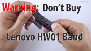Warning Don 39 t Buy the Lenovo HW01 Smart Fitness Band