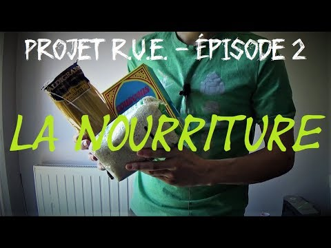 Projet R.U.E. #2 : La Nourriture