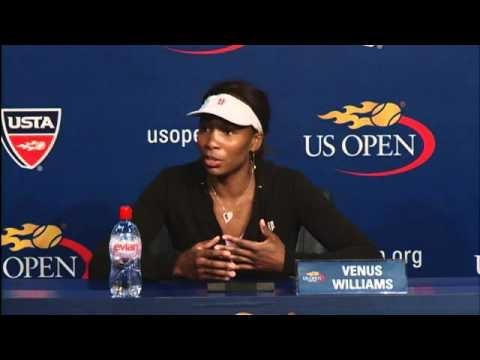 2010 US Open Press Conferences: Venus Williams (Fourth Round)