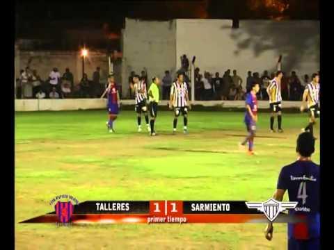 Talleres de Bell Ville vs. Sarmiento de Leones primera final 1-1 08-12-2014
