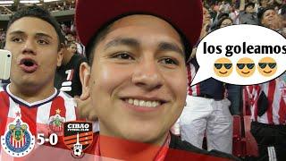 VLOG #65 (Chivas vs Cibao) super goleada