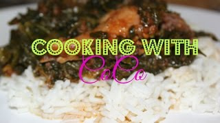 Cooking with CoCo | Spinach Stew