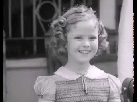 Shirley Temple in The Wizard of Oz - Rare Footage - Short Interview