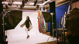Dorly - Model - The Shopping Channel - Photoshoot - BTS