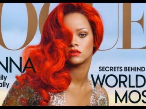 Rihanna Inspired Bronze Eyes Red Lips -itsJudyTime