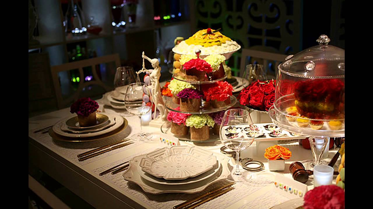 creative dinner party decorating ideas - youtube