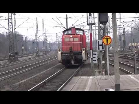 The ANWP Rail Video Diary Episode 144 International 4 Hamburg Harburg featuring 50 freights over a 2