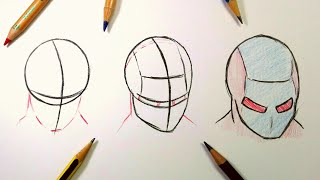 How To Draw a Superhero Mask Step By Step