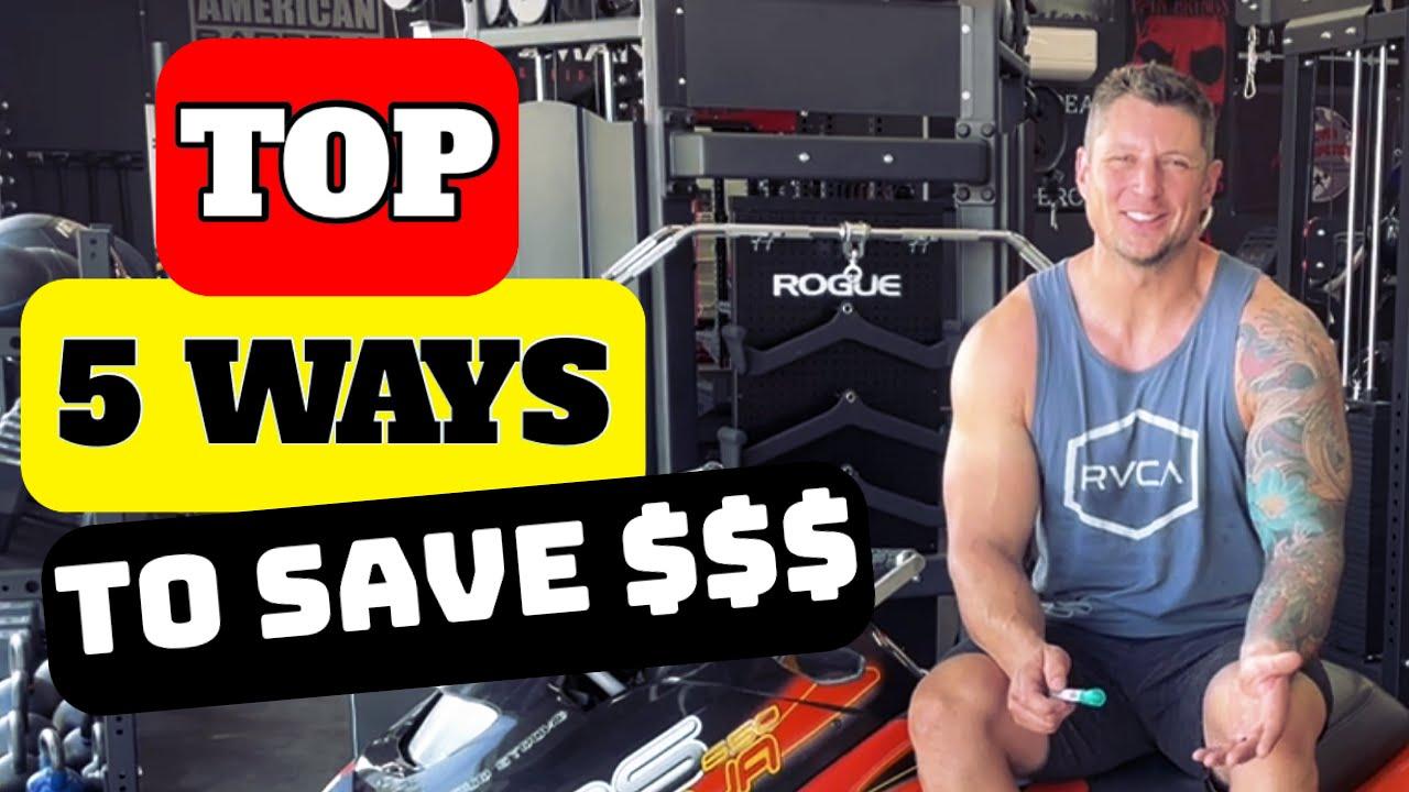 5 Ways to save on Garage gym equipment  |  Home Gym Set Up