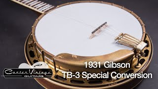 1931 Gibson TB-3 Special Conversion played by Charlie Cushman