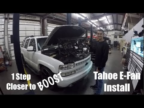 Tahoe Electric Fan Install The Easy Way - YouTube