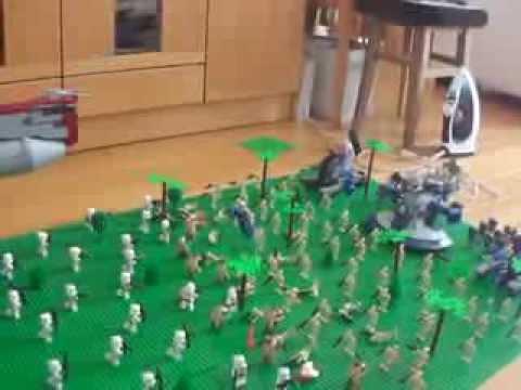 レゴ スターウォーズ ジオラマ 援軍 lego starwars diorama reinforcements