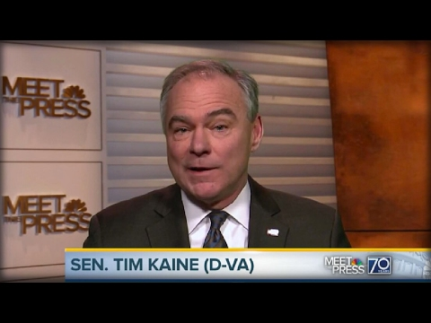 LOSER TIM KAINE JUST ISSUED A BRUTAL FALSE STATEMENT AGAINST TRUMP ON NBC THAT SHOCKED AMERICA