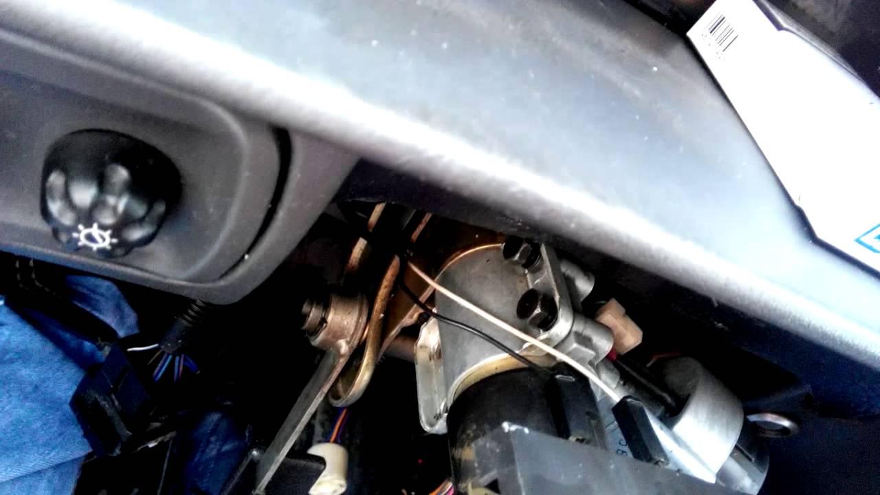 ваз 21099 инжектор схема замка зажигания принцип работы