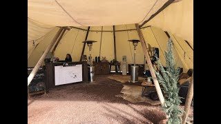 Glamping in Tucson