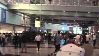北京首都国際空港 ターミナル3 到着ロビー