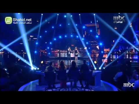 Arab idol _ ahmed gamal ft. Farah yousef