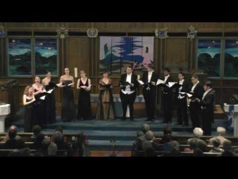 musica intima vocal ensemble - I wonder as I wander