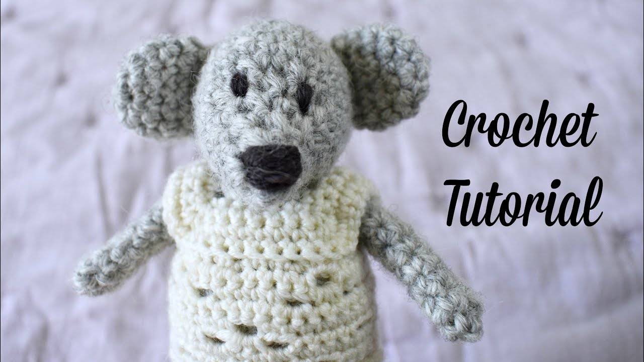 Crochet Along Amigurumi Mouse - YouTube | Crochet elephant pattern, Crochet  elephant, Crochet bear | 720x1280
