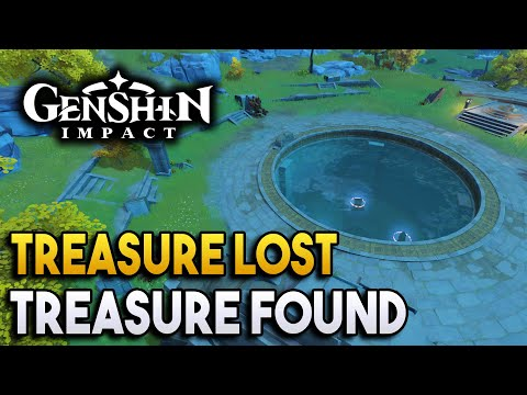 ?Genshin Impact?Treasure Lost, Treasure Found - World Quests and Puzzles