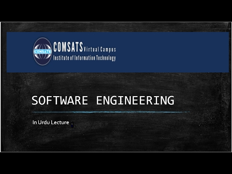 CSC291 Software Engineerng in Urdu hindi Lecture 6