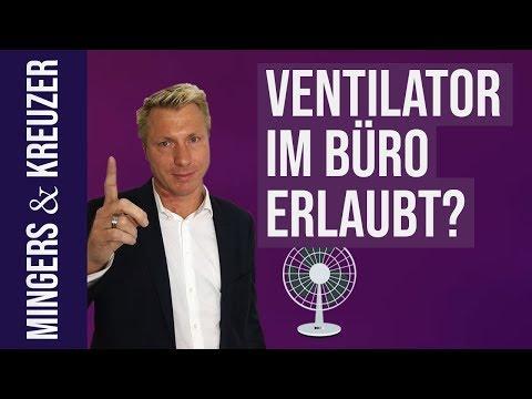 Darf ich einen Ventilator im Büro aufstellen? | #FragMingers (2018)