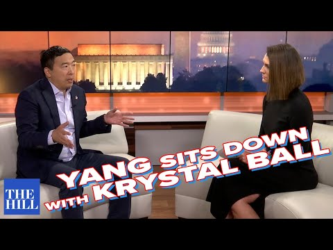 Full Extended Interview: Andrew Yang sits down with Krystal Ball