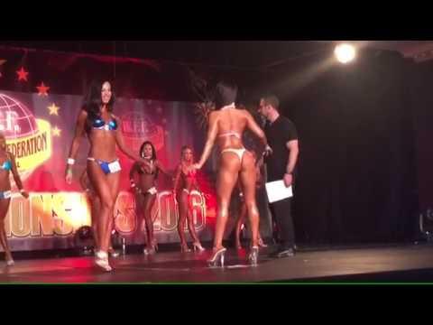 WFF WORLDS 2016 DUBLIN - bikini model short class 나바코리아 미스비키니 wff miss biniki