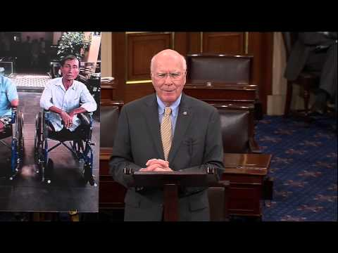 Leahy Freezes Military Aid To Egypt; Announces His Decision On Senate Floor