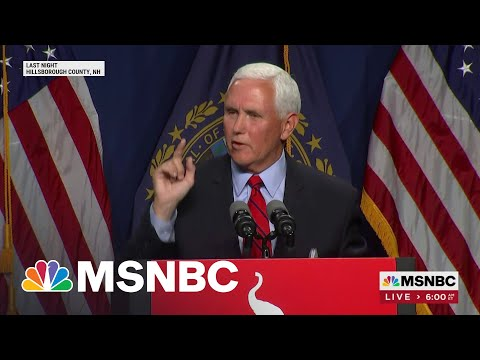 Pence Says He And Trump May Never See 'Eye To Eye' On Jan. 6