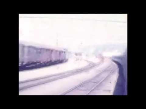 スイス・リンマッタル操車場とディーティコン駅 - YouTube