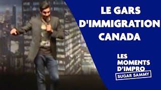 Humour : Sugar Sammy et le gars d'Immigration Canada