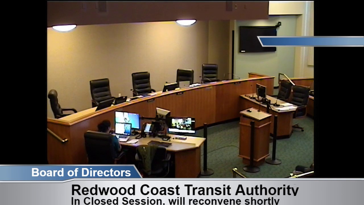Redwood Coast Transit Authority Special Meeting 2 22 19 Youtube